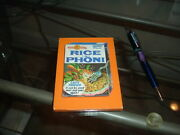 1974 Topps Gum Wacky Packages Wall Plack Plak Rice A Phoni Rare