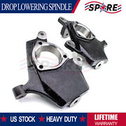 2 Drop Lowering Spindles Fit For 99-06 Chevy Gmc Silverado Sierra 1500 2wd