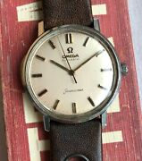 Vintage Omega Seamaster Automatic Steel Case 60s Serviced Watch