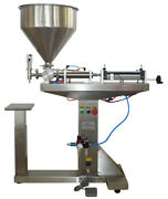 Commercial Paste Liquid Filling Machine 50-500ml With Stand Floor-standing Usa