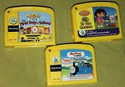 Leapfrog My First Leappad Learning System -preschool Level- Cartridges Only Dora