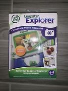 Leapfrog Leapster Explorer Learning Camera And Video Recorder Creativity New