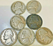United States 7 X Dimes 1940 1942 1943 1964 Vf Or Better Some Key Dates