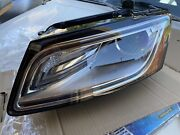 Left Driver Side Convex Lens Lamp Xenon Headlight Assembly For Audi Q5 13-17