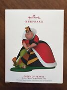 Hallmark 2018 Limited Edition Queen Of Hearts Ornament New