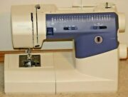 Viking Huskystar 224 Sewing Machine Without Pedal Broken For Parts As Is