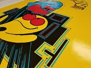 Pac-man Arcade Game Side Art And Kick Set - Highest Quality Available - Perfection