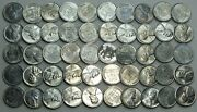Coin Roll 1943-s Lincoln Steel Cent Pennies Wheat Uncirculated Lot Set - Lg289