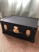 Extremely Rare Coach Black Leather Trunk - Collector Item