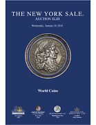 The New York Sale Auction 43 World Coins Gold Silver British Spain January 2018