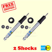 Kit 2 B8 5100 R.h.a Front 0-2 Lift Shocks For Toyota Tacoma 4wd 95-`04 Bilstein