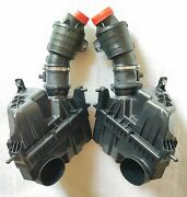 Jaguar F-type V8 Complete Air Cleaner Filter Boxes. Pair. Right And Left. New.