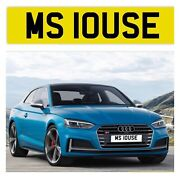Private Number Plate Miss Louse Ms10 Use Lou Cool Funny Name Reg Omg Rude Boss