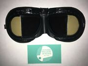 Halcyon Motorcycle-flying Stadium Goggles With Custom Transition Grey Lenses