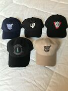 All 5 Transformers Film Crew Hats New Never Worn Out Of Town Ships 7/11/21