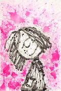 Home Girl Dreams - Peppermint Pattyandrdquo Je - Framed By Tom Everhart