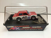 Aurora Rare Afx New Boxed / Banded Magna-traction Bre-datsun 510 Model Motoring