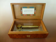 Vintage Reuge Music Box 72 / 3 Plays I Left My Heart In San Francisco And More..