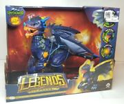 Wowwee Untamed Legends Dragon Vulcan Dragon Lights Sounds Wings Glows Toy New