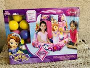 New Disney Sofia The First Princess In Training Playland + 20 Ball Playhut Tent