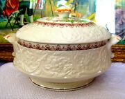 Booths Wild Rose Covered Vegetable Bowl Circa 1940s