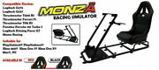 Monza-x Racing Gaming Simulator Race / Rally Seat For Pc Ps4 And Xbox One