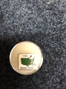 Very Rare Augusta National Masters Employee Pin 1989. The First Issued