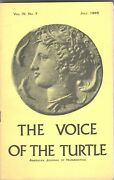 The Voice Of The Turtle Lot Of 29 Issues June 1965-july 1968 Ancient Coins