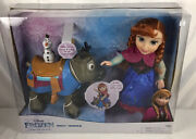 Disney Frozen Anna Doll With Sven And Olaf Kohl's Exclusive