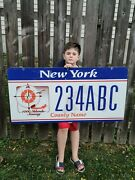 New York State Sample License Plate From Dmv Wall. St. Lawrence Thousand Islands