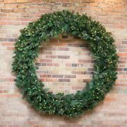 Vickerman 120 Cashmere Wreath Led 900wmwh Christmas Product