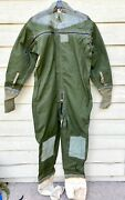 Vintage 1974 Usaf Anti Exposure Cwu-21/p Coverall Flight Suit - Size 8
