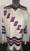 New York Rangers Stall And Dean Vintage Nhl Heritage Sweater Jersey Xl