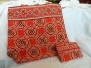 Vera Bradley Toggle Tote And Euro Wallet In Paprika Pattern