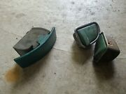 Original 1957 Chevy Bel Air 150 210 Del Ray Nomad Ash Tray + 2 Other Parts