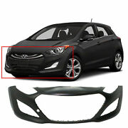 Primed Front Bumper Cover Replacement For 2013-2017 Hyundai Elantra Gt