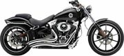 Cobra Chrome Speedster Swept Shorts Exhaust System Pipes 2013-2017 Breakout 622
