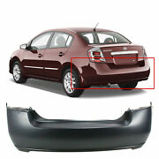Primed Rear Bumper Cover Replacement For 2007-2012 Nissan Sentra 07-12