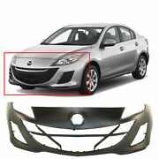 Front Bumper Cover Replacement For 2010 Mazda 3 2.0l 10 Primed Gs Gx I