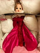 Madame Alexander Red Sequin Gown Cissy Doll 17124 Nrfb 0079 Of 1000 Dolls