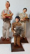 Simpich Character Doll Collection Native American Family Thanksgiving Series