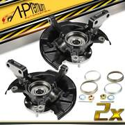 Front Leftandright Wheel Bearing Hub And Knuckle Assembly For Toyota Camry 1997-2001