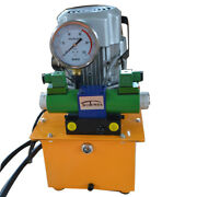 Hydraulic Pump Electric Driven Double Acting Solenoid Valve Pedal Switch 70 Mpa