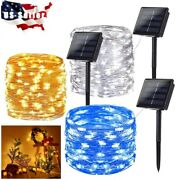 20m 200 Led Solar String Light Waterproof Copper Christmas Warm Party String