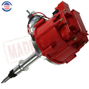 Red Hei Ignition Distributor 6522r For Gm 250 Chevy 292 230 Inline 6 Cylinder