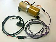 New 1968 Gto/tempest/lemans Convertible Top Motor-pump Switch And Wiring Harness
