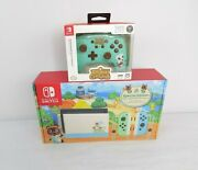 Animal Crossing New Horizons Limited Edition Nintendo Switch Console Bundle