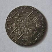 Great Britain Silver 6 Pence 1787 George Iii No Hearts