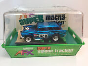 Afx Smt '57 Chevy Nomad New Box And Banded Rare Blue Chrome Model Motoring Aurora