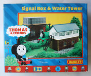 Rare 2001 Thomas And Friends Signal Box And Water Tower Train Set R9036 Hornby New